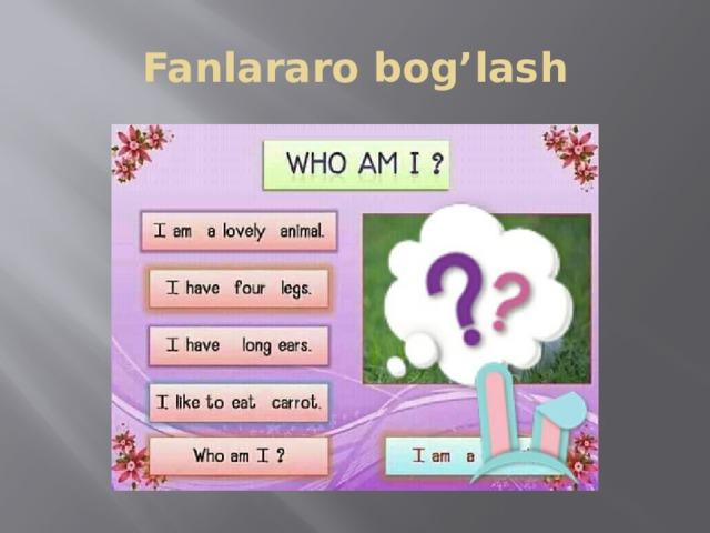Fanlararo bog'lash