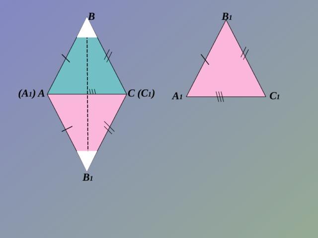 В 1 В (А 1 ) (С 1 ) С А  С 1 А 1 В 1