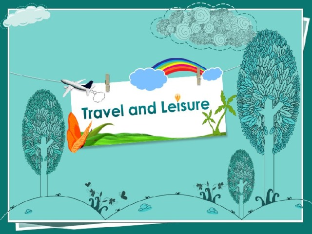 Test Travel and leisure