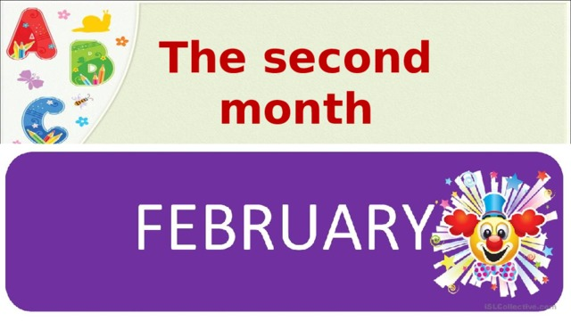 The second month