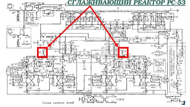 Сглаживающий реактор РС-53