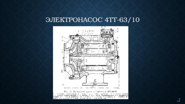 Электронасос 4ТТ-63/10