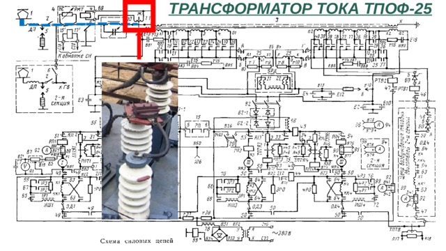 Трансформатор тока ТПОФ-25
