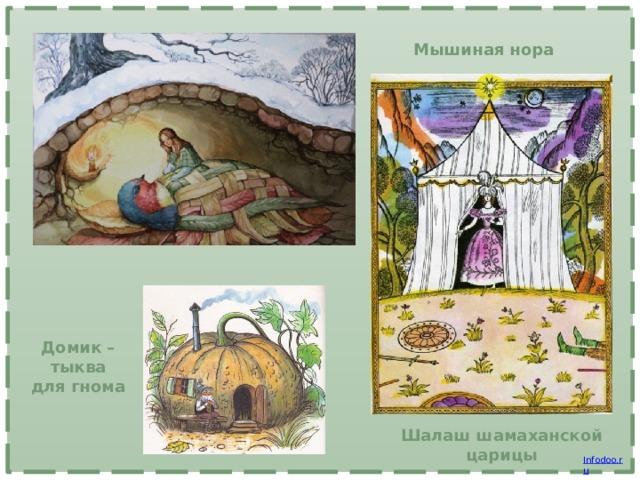 Мышиная нора Домик –тыква для гнома Шалаш шамаханской царицы