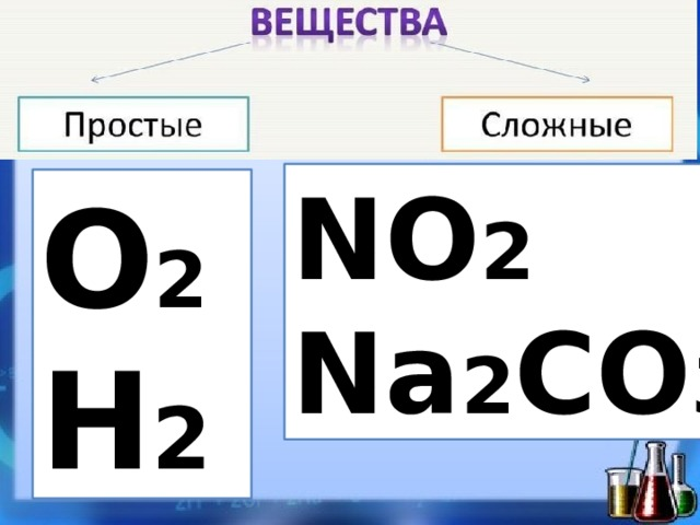 NO 2 Na 2 CO 3 O 2 H 2