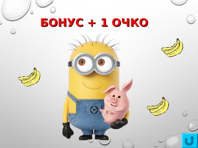 БОНУС + 1 ОЧКО