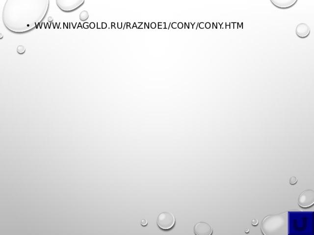 WWW.NIVAGOLD.RU/RAZNOE1/CONY/CONY.HTM