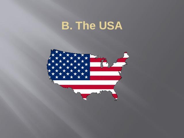 B. The USA