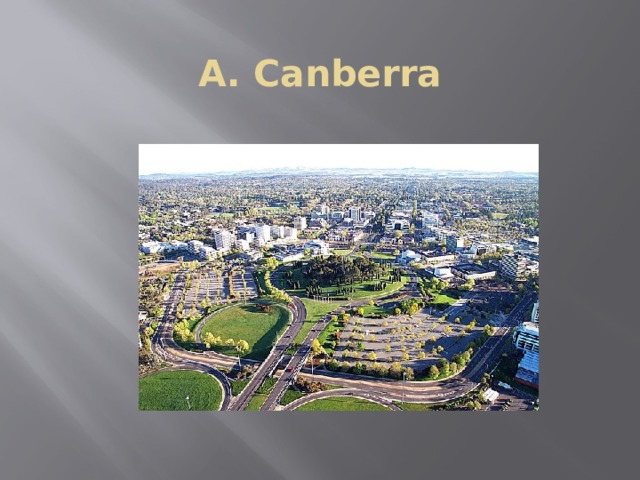 A. Canberra