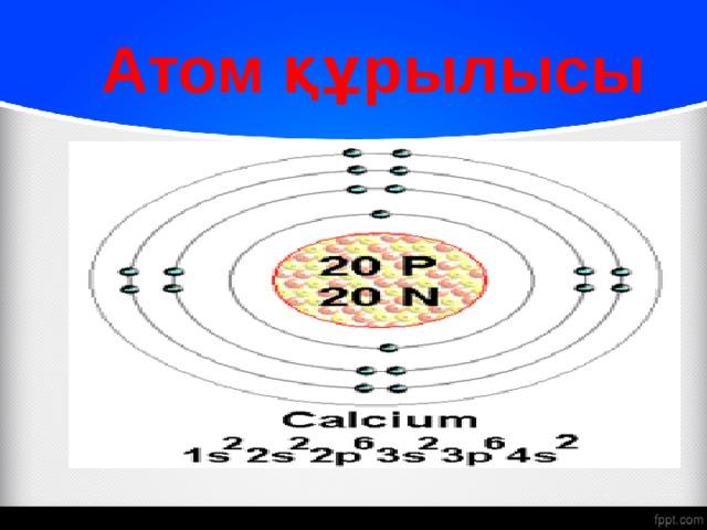 Атом құрылысы
