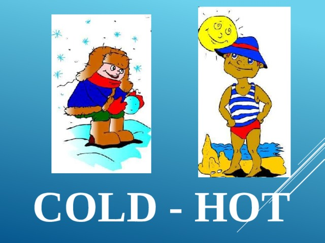 cold - hot