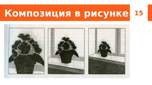 Композиция в рисунке 15 Примеры композиции