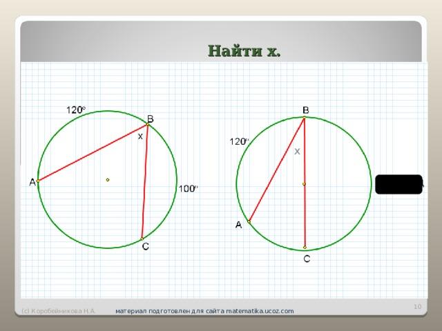Найти х. х вар роло оллд 12233   (с) Коробейникова Н.А. материал подготовлен для сайта matematika.ucoz.com