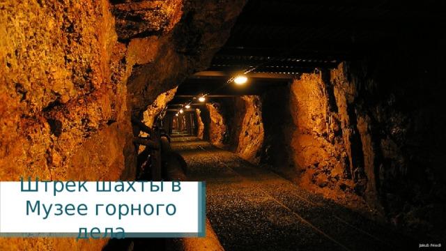 Штрек шахты в Музее горного дела Jakub Friedl