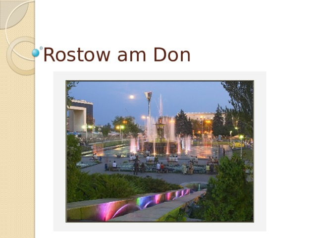 Rostow am Don