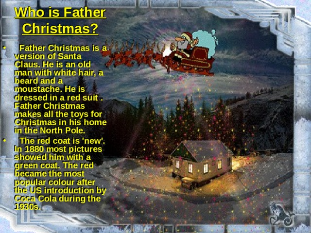 Who is Father Christmas?