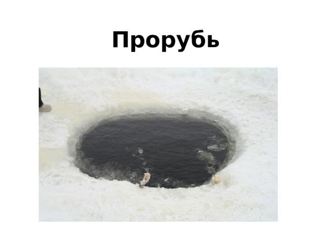 Прорубь