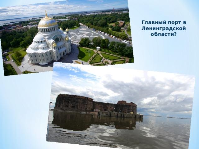 Главный порт в Ленинградской области?