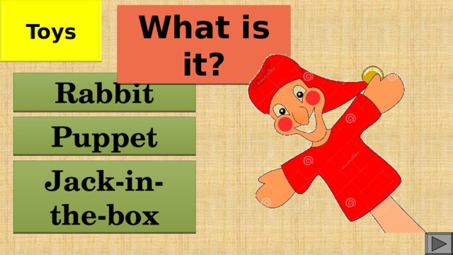 Toys What is it? Rabbit Puppet Jack-in-the-box