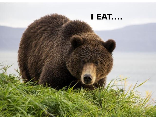 I EAT....