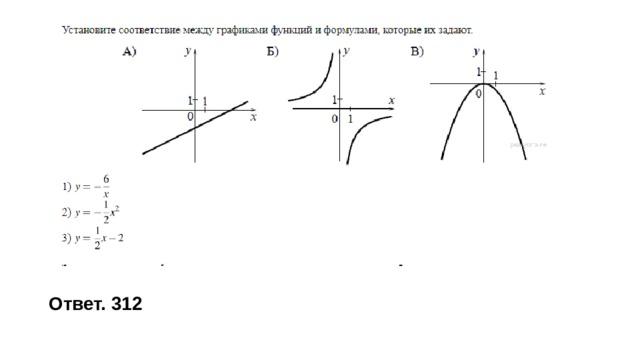 Ответ. 312