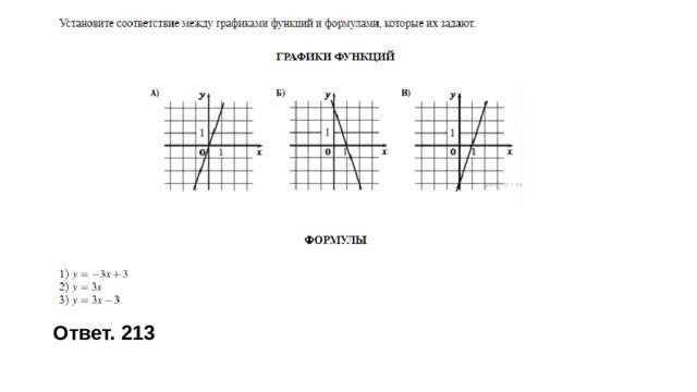 Ответ. 213