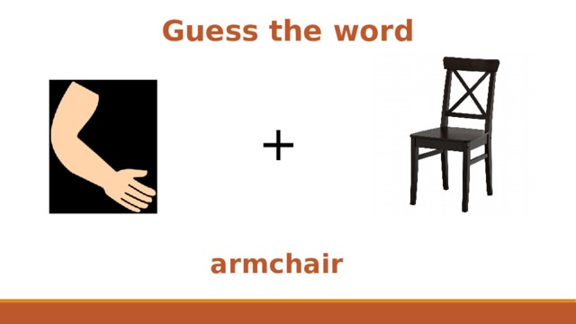 Guess the word + armchair