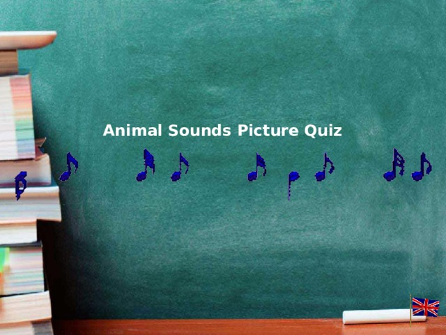 Animal Sounds Picture Quiz