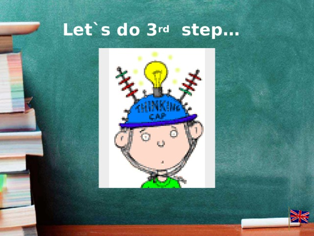 Let`s do 3 rd step…