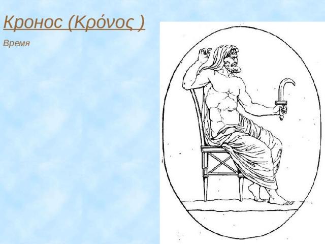 Кронос (Κρόνος ) Время