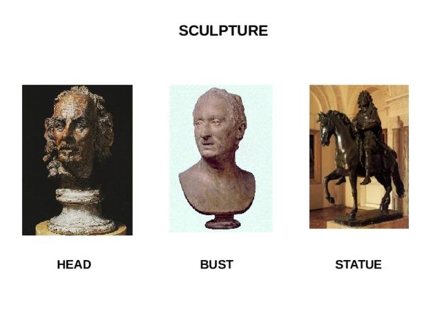 SCULPTURE  HEAD BUST STATUE