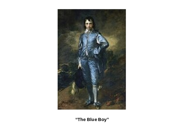""" The Blue Boy"""