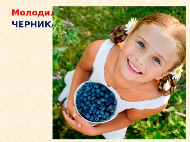 Молодильная  ягода  ЧЕРНИКА