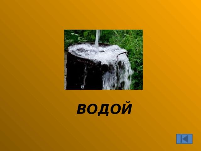 ВОДОЙ