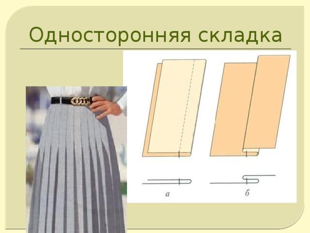 Односторонняя складка