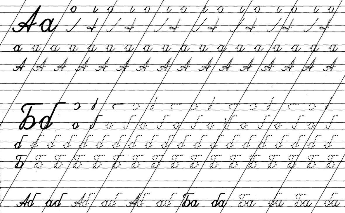 Пропись букв для 1 класса - начальные классы, прочее