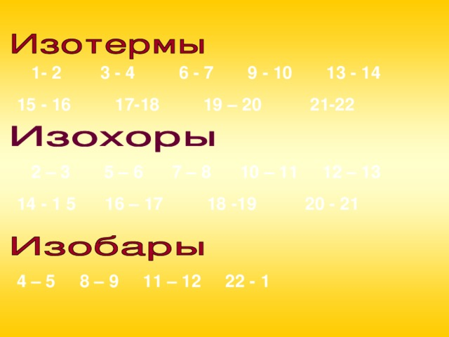 1- 2 3 - 4 6 - 7 9 - 10 13 - 14 15 - 16 17-18 19 – 20 21-22  2 – 3 5 – 6 7 – 8 10 – 11 12 – 13 14 - 1 5 16 – 17 18 -19 20 - 21  4 – 5 8 – 9 11 – 12 22 - 1