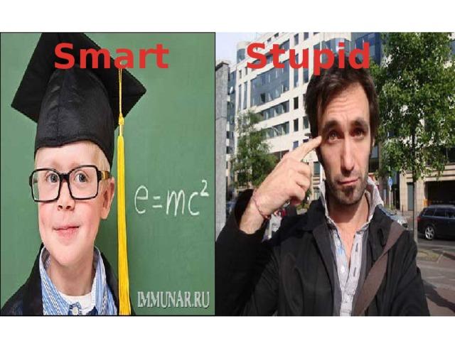 Smart Stupid