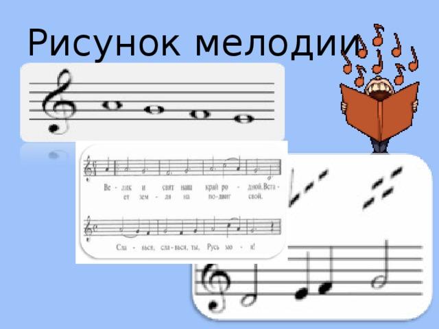 Рисунок мелодии