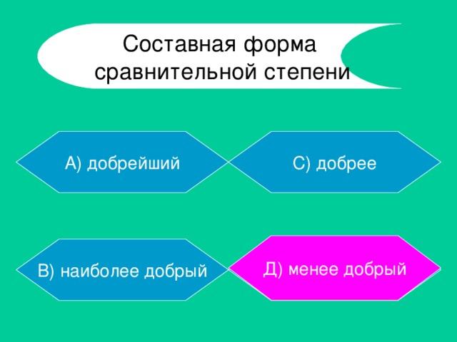 С помощью каких суффиксов образуется простая превосходная степень имени прилагательного?