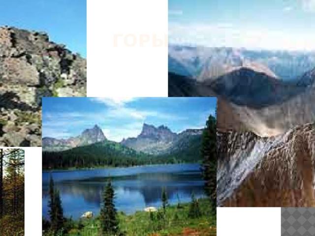 горы В горах Бырранга самая высокая гора – Ледниковая 1146 м 2. Работа с картой