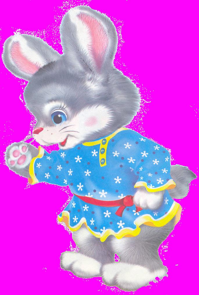 Картинки зайца сказочные