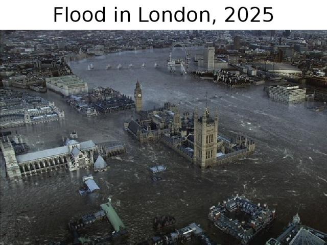 Flood in London, 2025
