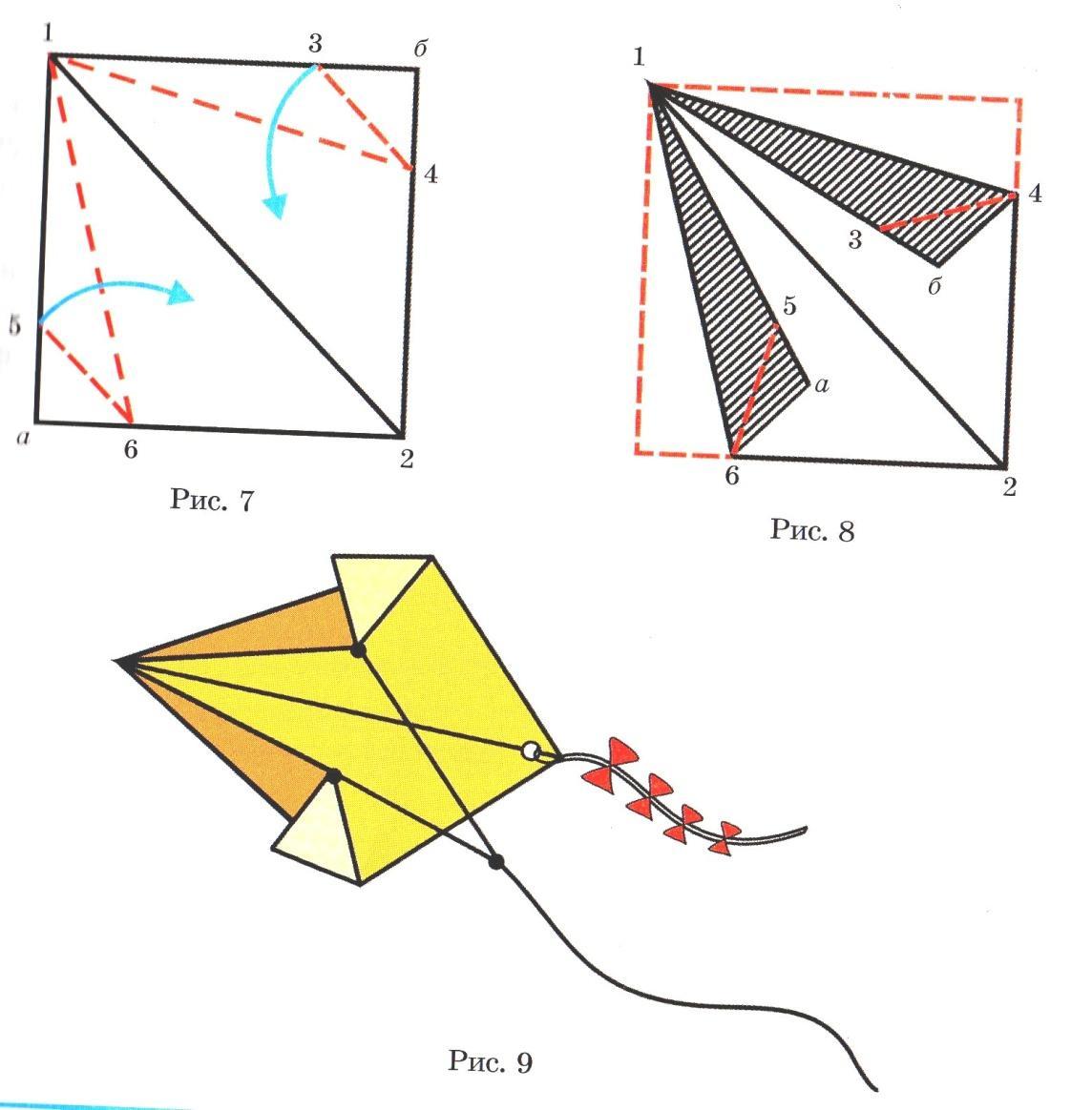 воздушный змей инструкция картинки растерянности