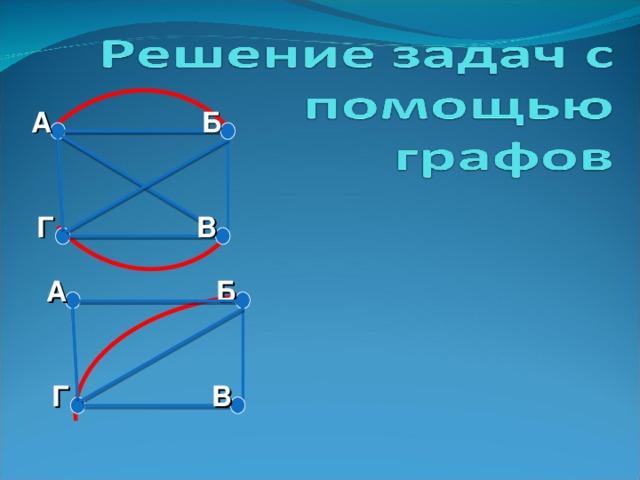 Решение задач с помощью графов в математике обучение решению текстовых задач
