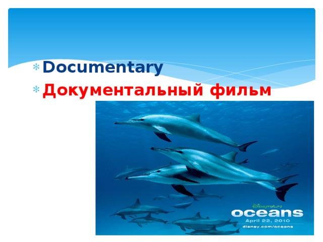 Documentary Документальный фильм