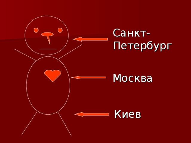 Санкт-  Петербург Москва Киев
