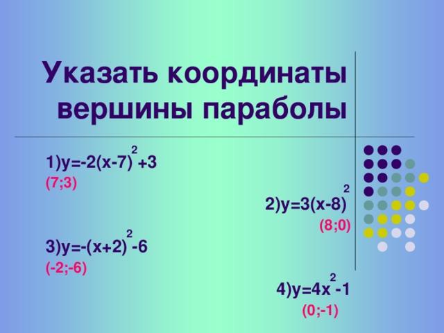 Функция   у = а (х - x 0 ) + y 0 2 Кочеткова Т.В. г. Семенов