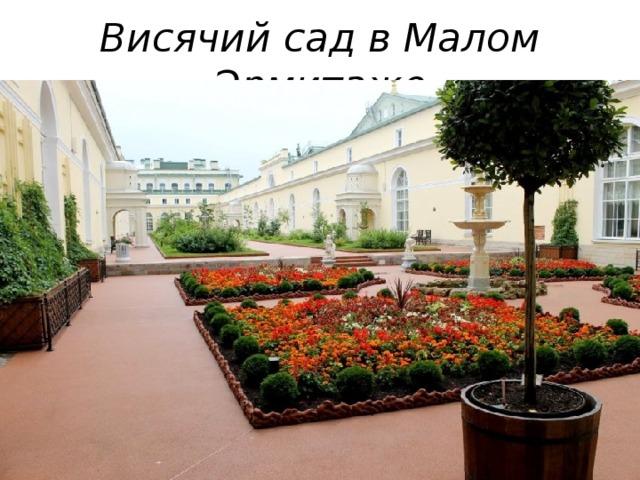 Висячий сад в Малом Эрмитаже