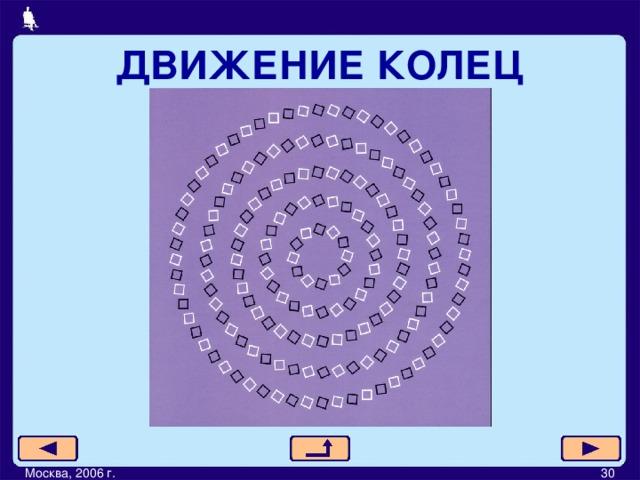 ДВИЖЕНИЕ КОЛЕЦ Москва, 2006 г.         30
